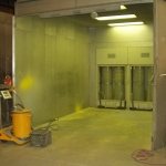 Atmosphere Controlled Wet Paint Booth